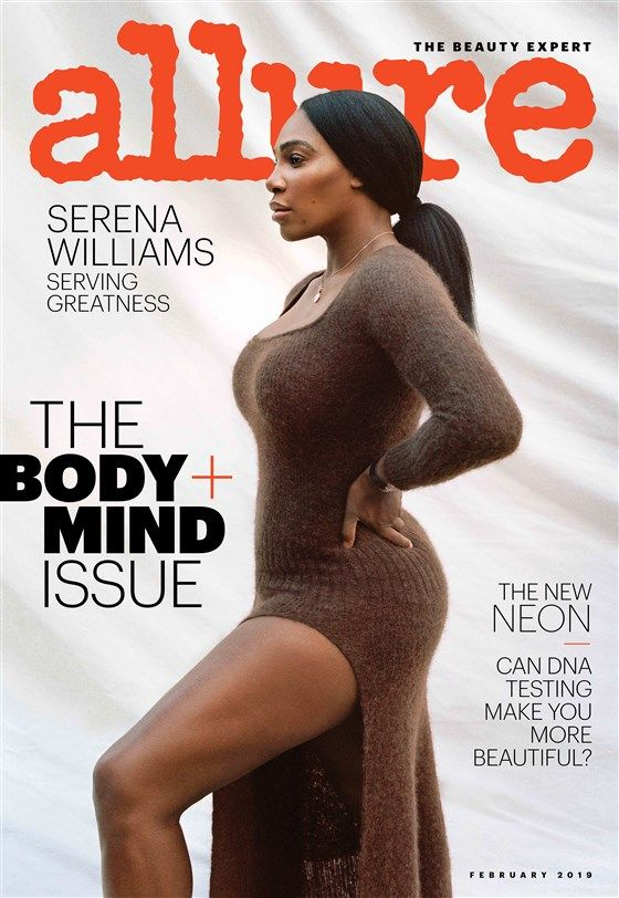 Serena Williams on Allure magazine