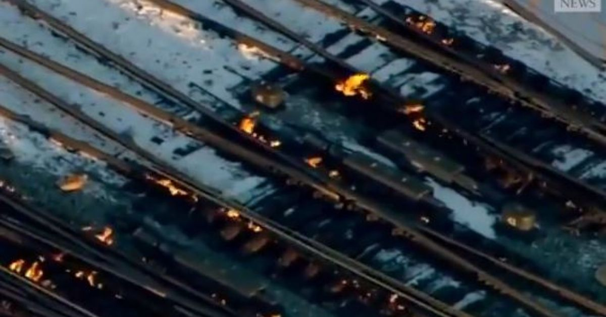 Chicago commuter rail fights the cold with fire