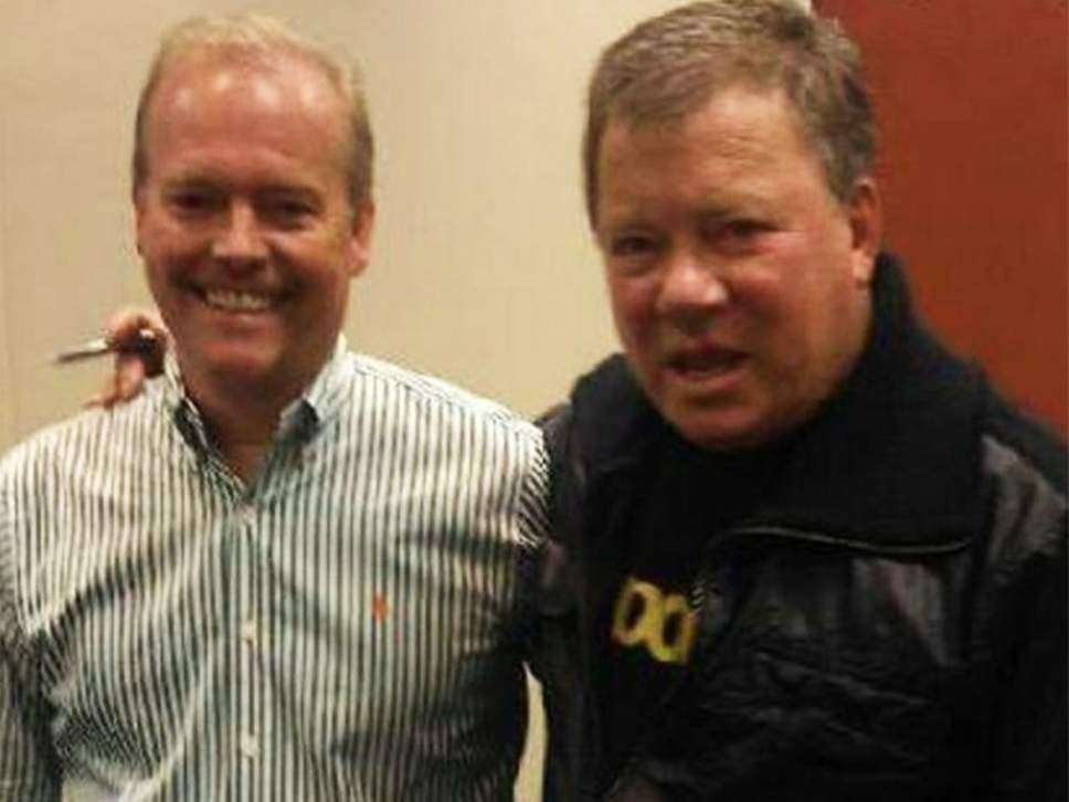 William Shatner and Peter Sloan