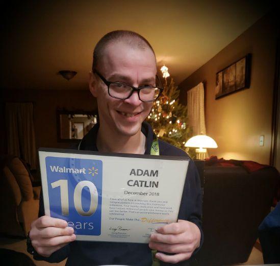 Adam Catlin Walmart