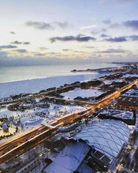 Chicago Polar Vortex