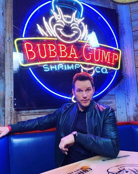 Chris Pratt bubba gump