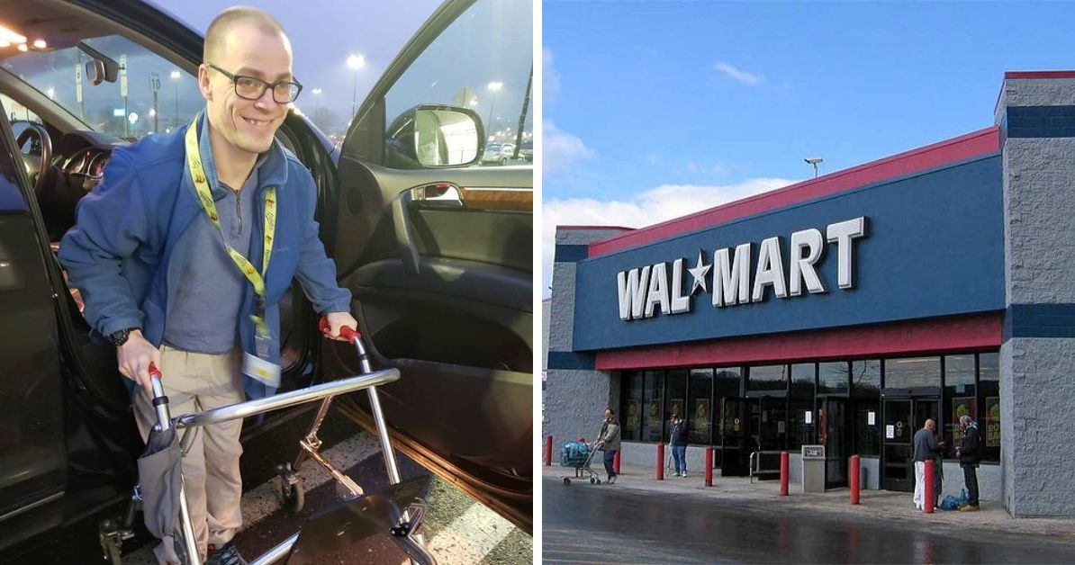 Disabled Walmart Greeter Told He Could Lose His Job Over New