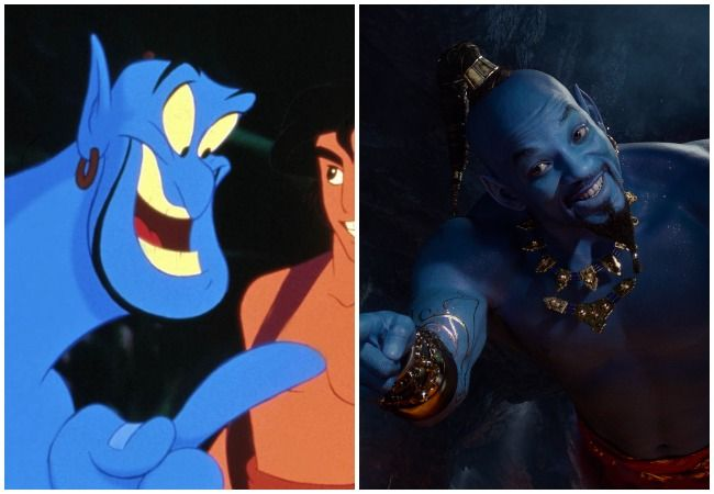 Will Smith the Genie