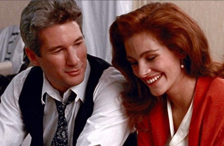 Richard Gere and Julia Roberts in 'Pretty Woman.'