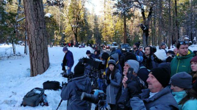 Yosemite National Park Firefall