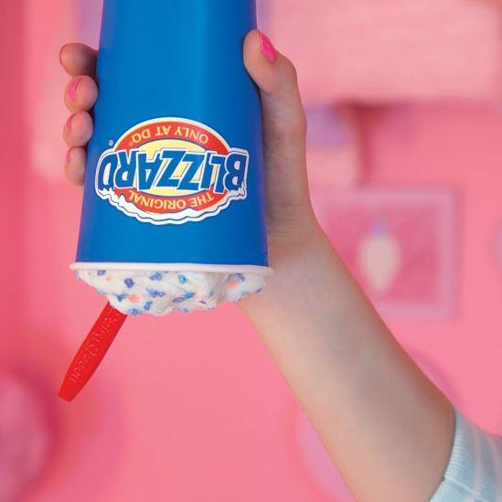 Blizzard Dairy Queen