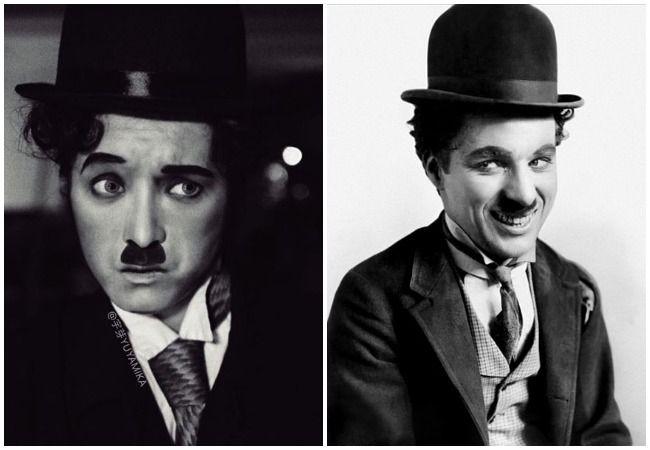 Charlie Chaplin.