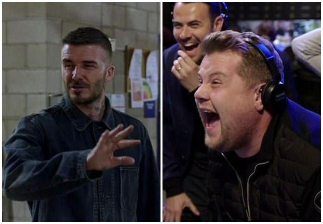 David Beckham prank