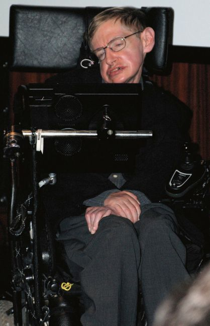 Stephen Hawking computer