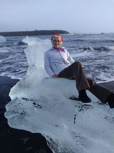 Grandma Washed Out To Sea After Cheeky Photo Shoot Goes Wrong