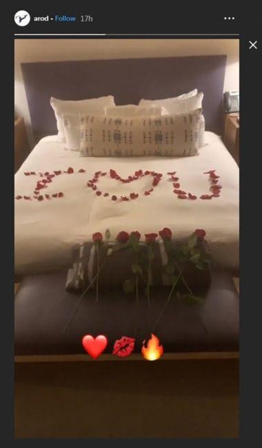 Alex Rodriguez engagement