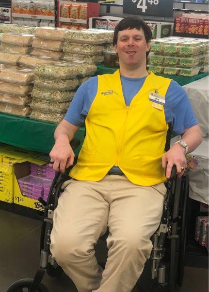 Jay Marion Walmart greeter
