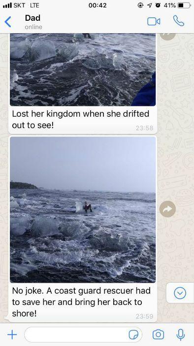 Grandma iceberg
