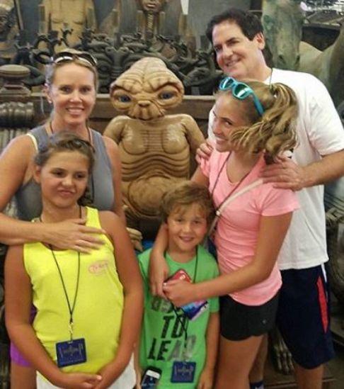 Mark Cuban family