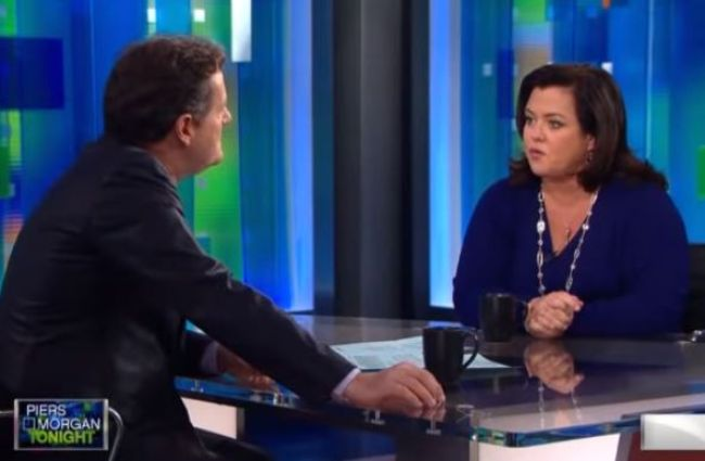 Piers Morgan Rosie O'Donnell