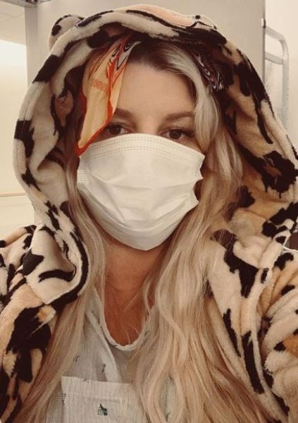 Jessica Simpson bronchitis