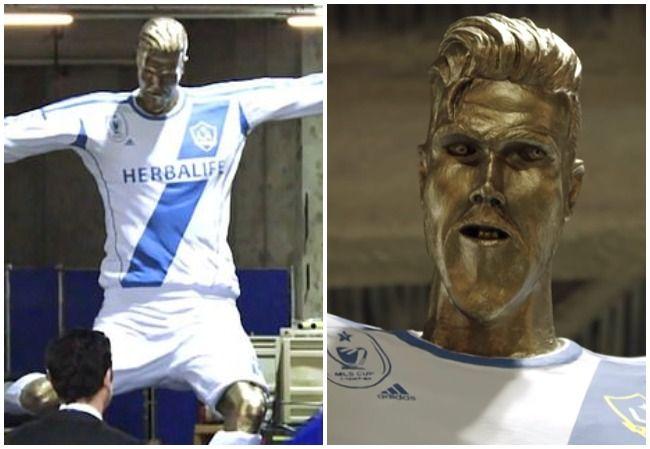 David Beckham statue
