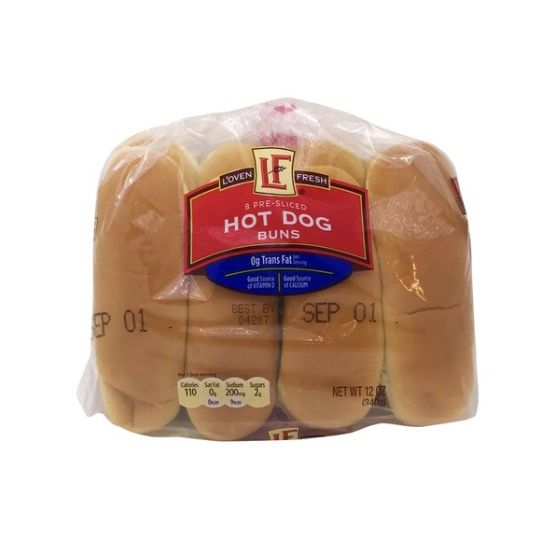 Uh-Oh: More Than 50 Brands Of Hot Dog And Hamburger Buns Recalled